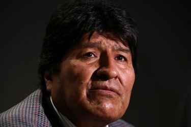 Evo Morales web