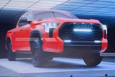 Mastodonte a la vista: la nueva generación de la Toyota Tundra, cazada antes de tiempo