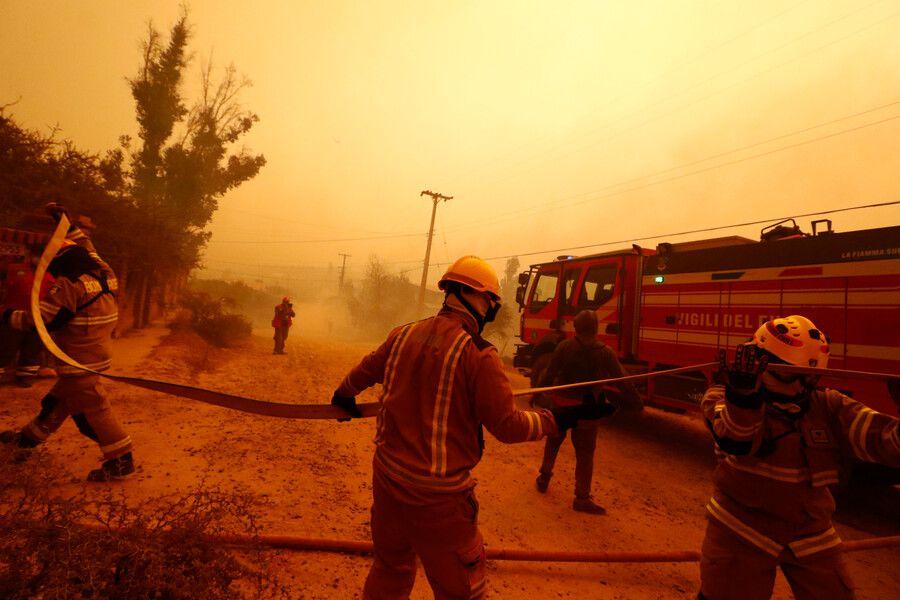 GR 2: Incendio a Quilpué; Aggiornamento COVID; Enel chiude centrale a Carbone