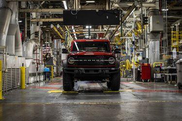 No hay plazo que no se cumpla: Ford da inicio en Michigan a la producción del Bronco