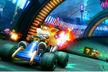 El primer acercamiento a la recreación nostálgica de Crash Team Racing Nitro-Fueled