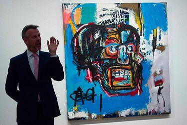 Cuadro de Basquiat logra un récord al venderse por US$ 110,5 millones