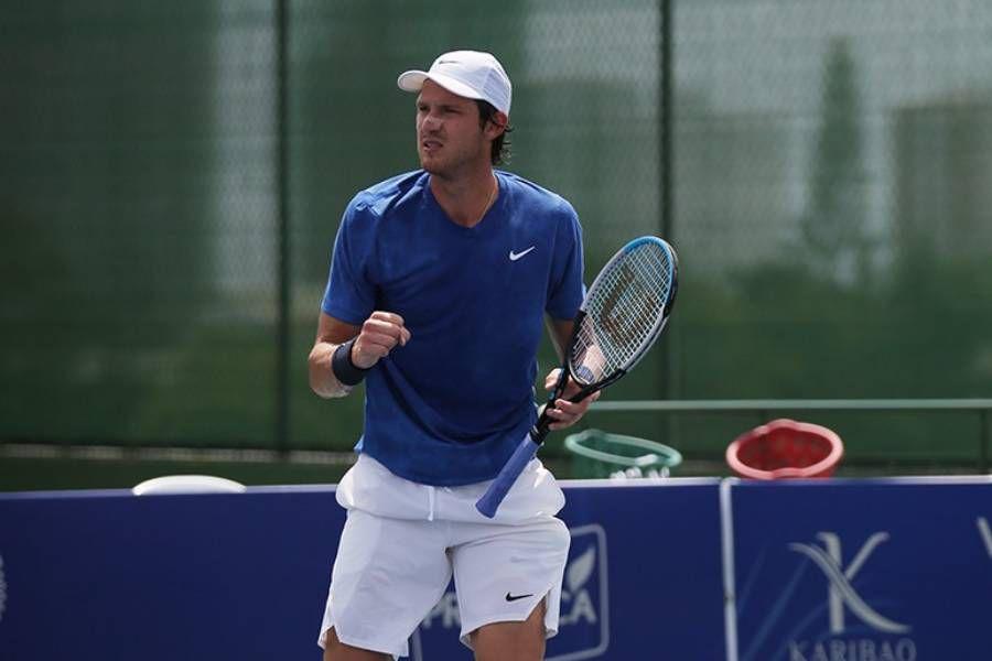 Nicolás Jarry se instaló en los cuartos de final del Challenger de Salzburgo tras superar por 6-2  y 6-4 al alemán Peter Heller.