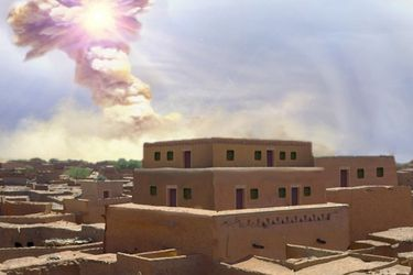 Cómo un meteorito pudo haber destruido una  antigua ciudad e inspirado el cuento bíblico de Sodoma