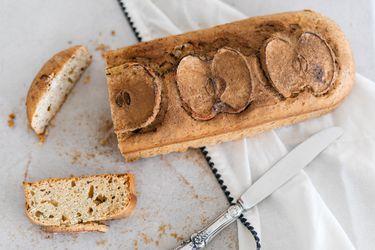 Cómo preparar un queque con manzana y amapola