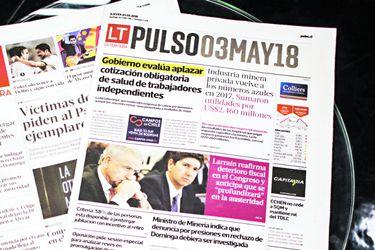Diario la tercera y pulso12