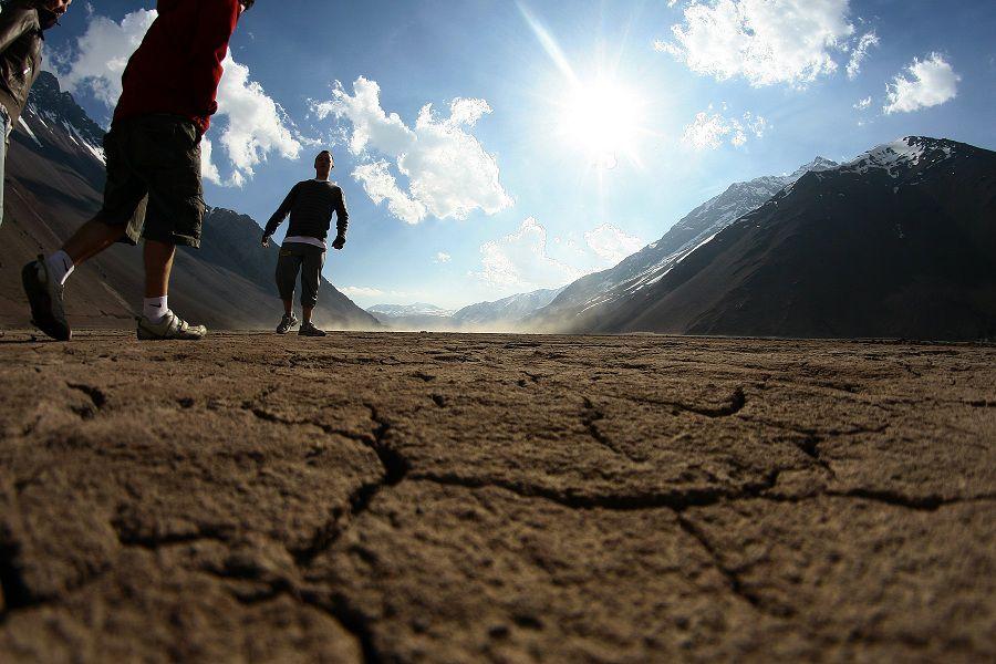 Embalse el Yeso y Cordillera del Cajòn del Maipo