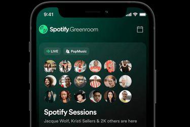 Ya está disponible Greenroom, la nueva plataforma para salas de audio de Spotify
