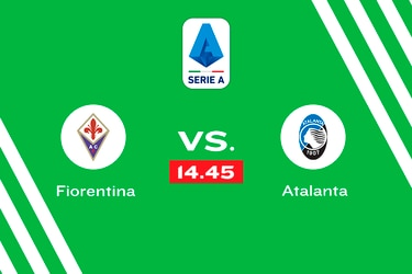 Fiorentina vs. Atalanta, domingo 14.45 horas