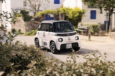 El simpático Citroën Ami ahora es también un mini furgón de carga