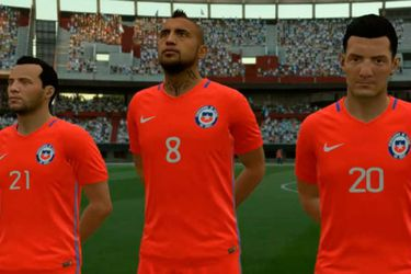 Chile parte con un triunfo en la Copa América para FIFA 18