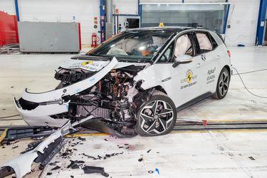 El eléctrico Volkswagen ID.3 echa encima su avanzada ingeniería en los testeos de Euro NCAP