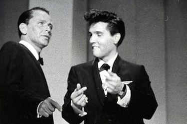 La noche que Elvis Presley cantó junto a Frank Sinatra