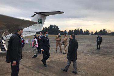 Ministro Pérez visita La Araucanía tras hechos de violencia registrados en la región