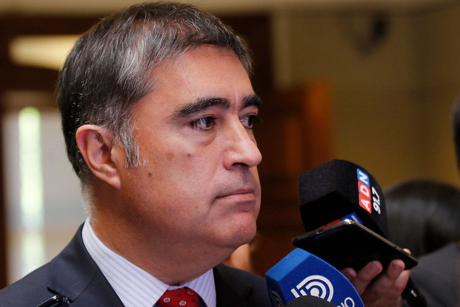 El presidente de RN, Mario Desbordes.