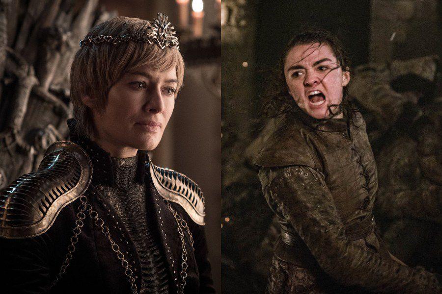 arya vs cersei