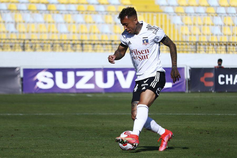 Martín Rodríguez, en el duelo frente a Everton