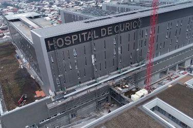 Autoridades destacan avances de Hospital de Curicó: será entregado en noviembre y estaría operativo en marzo de 2021