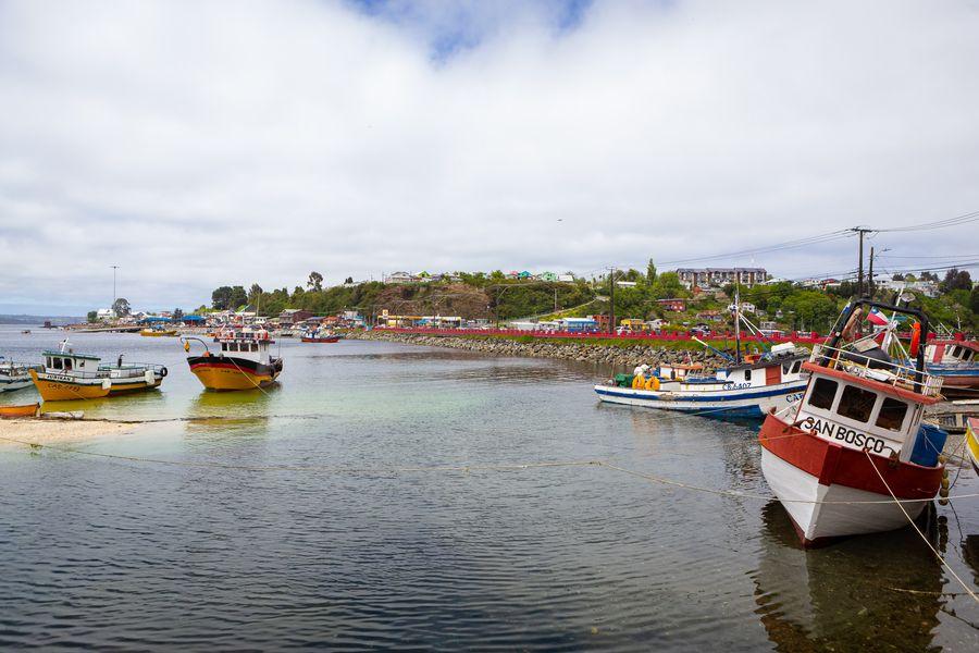 Calbuco, localidad ubicada en la Región de Los Lagos.