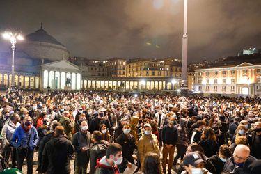 Protestas contra las restricciones por Covid-19 se extienden en varias ciudades de Italia