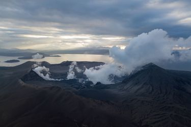 Filipinas endurece medidas ante temor de nueva erupción del volcán Taal