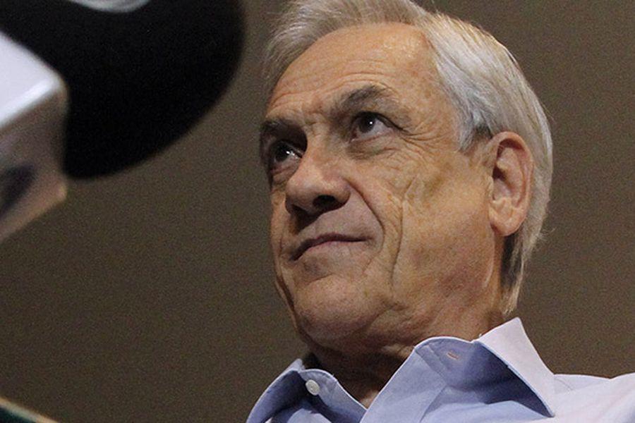 Ex presidente Pinera visita Concepcion.