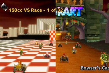 Encuentran versión beta del Castillo de Bowser en Mario Kart Wii