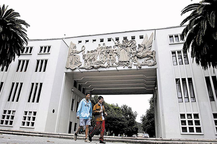 Fachada de la Universidad de Concepción