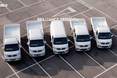 Brilliance se agranda y aterriza con su nueva línea de vehículos comerciales