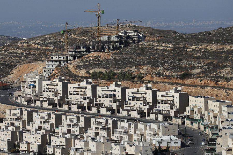 Cisjordania asentamientos