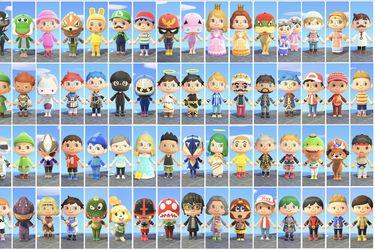 Recrean el roster completo de Super Smash Bros. Ultimate en Animal Crossing