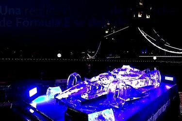 Este auto de hielo de la Fórmula E muestra los efectos del cambio climático