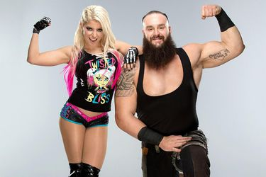 Braun y Alexa: La pareja dispareja tuvo su noche de gloria en Money in the Bank