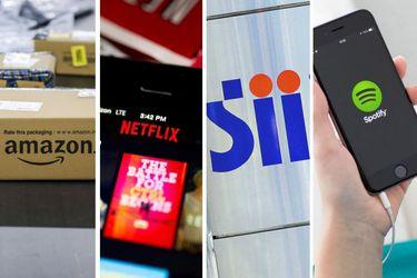 Google y Netflix encabezan la lista de las plataformas digitales que más impuestos pagaron