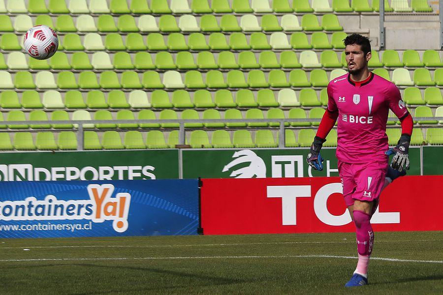 Matías Dituro se va de Universidad Católica. El 5 de junio jugó sú último partido, ante Santiago Wanderers.