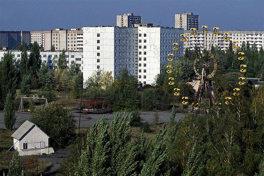 Chernobyl prensa