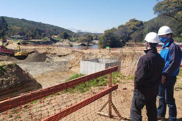 Proyecto hídrico Los Aromos-Concón de Esval continúa progreso y suma 60% de avance