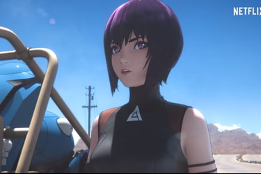 Netflix libera el primer teaser de su anime de Ghost in The Shell