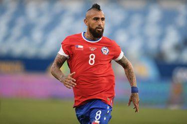 Vidal se enojó con todos: el partido de la gran estrella roja