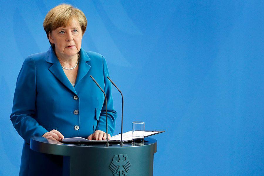 Angela Merkel, canciller de Alemania. Foto: AP.