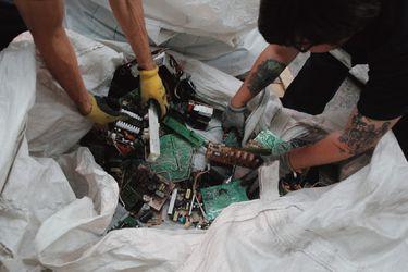 La ruta del reciclaje electrónico