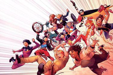 Superboy, Impulso y Los Gemelos Fantásticos serán parte de la nueva línea de cómics DC