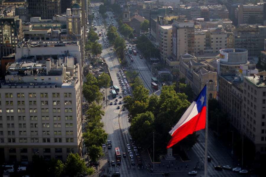Panorámicas de Santiago desde la Torre Entel