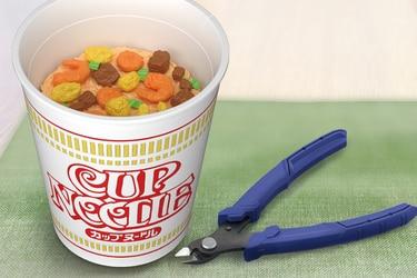 Bandai lanzará una maqueta de fideos instantáneos 'Cup Noodle'
