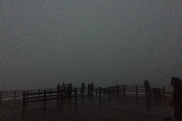 Eclipse total solar silencia los oscuros cielo del Volcán Villarrica
