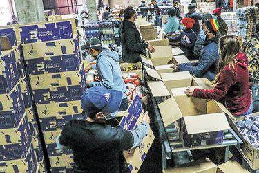 """Vocera informa que se han entregado 277.842 cajas de alimentos en el país y responde a la oposición por cuestionamientos: """"Menos crítica y más soluciones"""""""