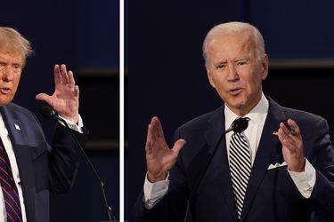 Las frases que marcaron el primer cara a cara entre Donald Trump y Joe Biden