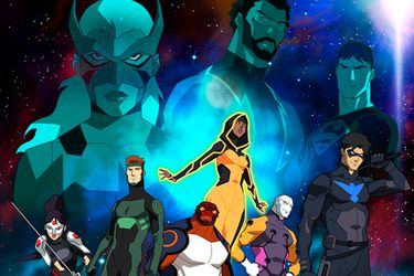 Young Justice: Outsiders realizó un guiño a Teen Titans Go!