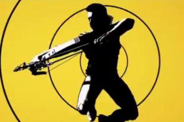 Vean la presentación del logo de la serie de Hawkeye