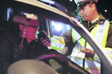 Narcotest: uno de cada cinco conductores fiscalizados arrojó consumo de drogas